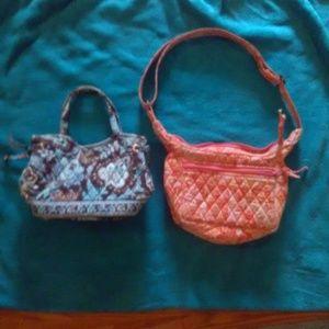 2 Mini Vera Bradley bags! Adorable!
